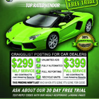 Craigslist Posting For Car Dealers - Auto Dealer Posting